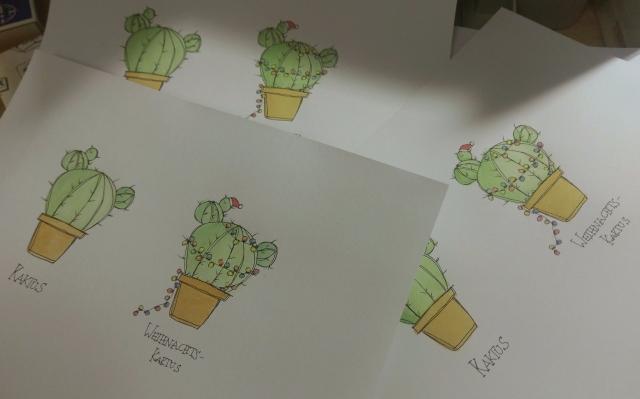 Cards in Progress